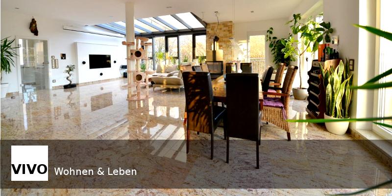 nobel ausgestattete penthousewohnung mit perfekter, Hause deko