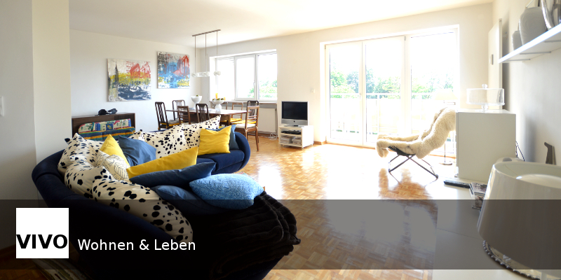 4 ZKB Penthousewohnung Augsburg Innenstadt verkauft
