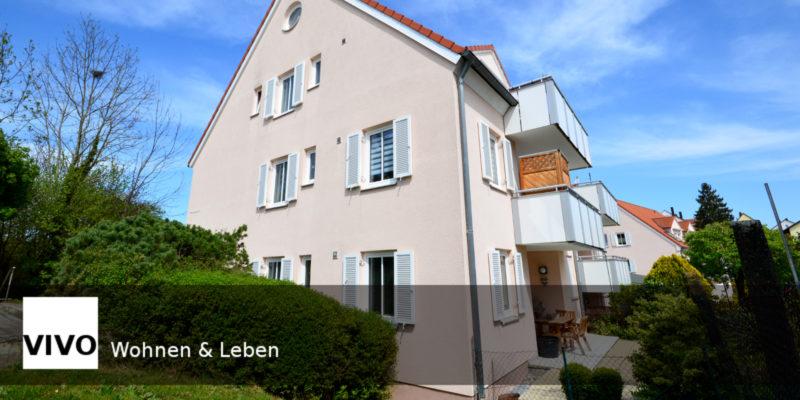 Helle Maisonettewohnung mit Galerie und einem Südbalkon in Burgau verkauft