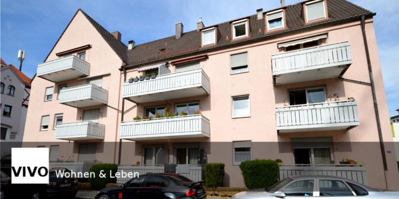 2,5 ZKB Dachgeschosswohnung in Augsburg Oberhausen verkauft